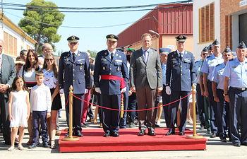 El coronel Gómez Blanco toma posesión como jefe de la Maestranza Aérea de Albacete