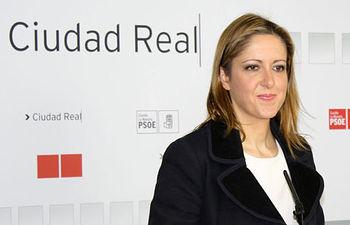 Cristina Maestre, portavoz regional del PSOE.