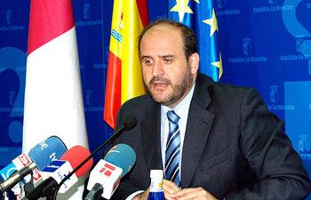 El consejero de Agricultura y Desarrollo Rural, José Luis Martínez Guijarro, en una imagen de archivo.