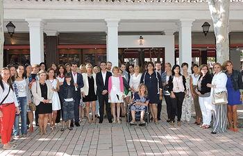 Santiago Cabañero ha compartido un desayuno con la Asociación de Mujeres Empresarias de Albacete