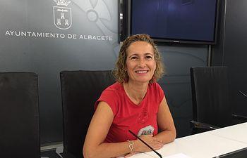 María José Simón, concejala Ganemos Albacete.