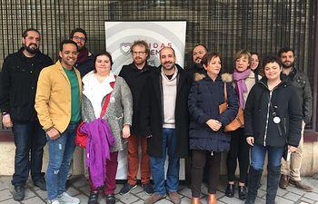 Unidas Podemos-IU-Equo CLM registra en Albacete su candidatura para las elecciones del 26 de mayo