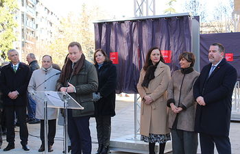 """Inauguración de la exposición """"El Prado en las calles"""" en Albacete."""