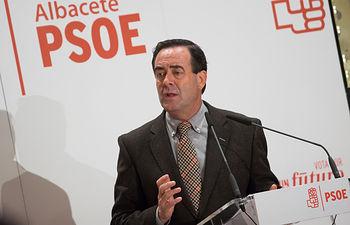 Mitin de José Bono en Albacete.