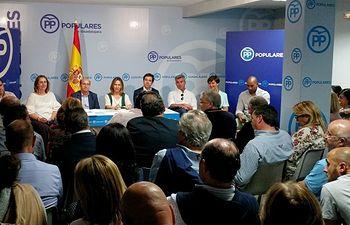 Reunión del Comité Ejecutivo Provincial del PP.