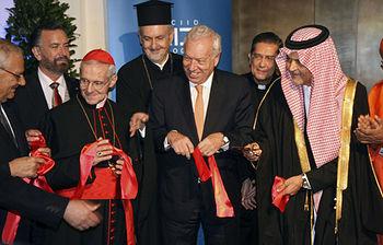 El Ministro de Asuntos Exteriores y de Cooperación participa en la inauguración del Centro Internacional para el Diálogo Interreligioso (Foto EFE)