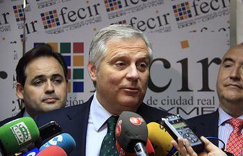 Francisco Cañizares, candidato del Partido Popular a la Alcaldía de Ciudad Real.