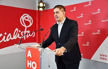 José Manuel Bolaños, senador socialista por la provincia de Ciudad Real.
