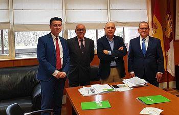 Contigo Albacete presenta a la Consejería de Fomento su proyecto de Plataforma Logística.