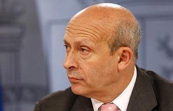 Foto del Ministro de Educación, Cultura y Deporte José Ignacio Wert (Archivo)