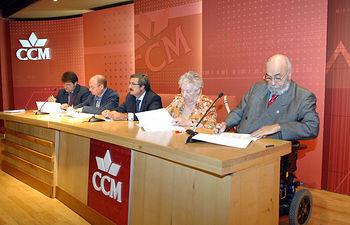 Rubén Sanz, José Luis Serrano, Martín Molina, Carmen Cabellos y Miguel Pereyra