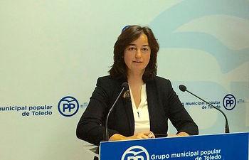Sonsoles Garrido, concejal del Grupo Municipal Popular.