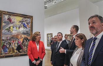Inauguración de la muestra 'Greco' en París. (Fotos: JCCM)