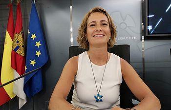 María José Simón, concejal de Ganemos en el Ayuntamiento de Albacete.