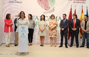 """La primera edición de FARCAMA Primavera """"es un símbolo de la recuperación del apoyo del Gobierno regional al sector artesano"""". Foto: JCCM."""