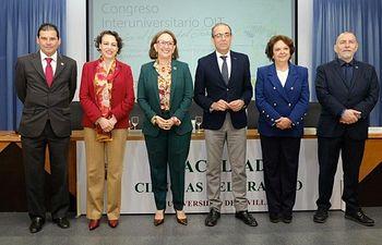 """Congreso Interuniversitario OIT sobre """"El futuro del trabajo"""", en Sevilla."""