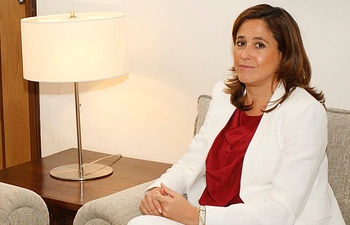 Rosa Romero - Alcaldesa de Ciudad Real. Imagen de archivo.