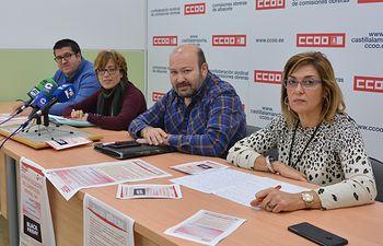 CCOO y UGT Albacete convocan concentración en el black friday contra el bloqueo del convenio provincial del Comercio.