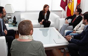 Reunión con la Decana de la Facultad de Educación de Ciudad Real