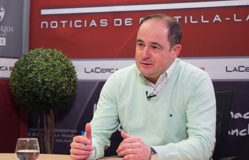 Emilio Sáez, secretario general Agrupación Local PSOE Albacete.