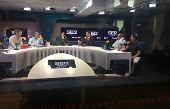 """Pedro Sánchez en  una entrevista en el programa """"Hoy por hoy"""" de la Cadena Ser."""