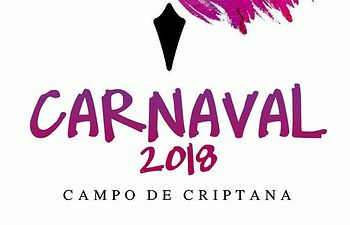 Cartel Carnaval Campo Criptana 2018.