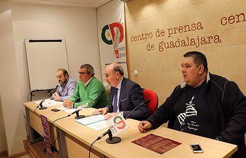 José Antonio Arranz, Óscar Hernando, José Manuel Latre y Raúl Sales.