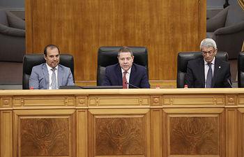 Toledo, 5 de septiembre de 2019.- Acto de toma de posesión de los nuevos miembros del Consejo Consultivo de Castilla-La Mancha. Foto: CARMEN TOLDOS