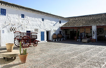 Venta de don Quijote en Puerto Lápice (Ciudad Real). Foto: F.J. Martínez Adrados, INTEF.