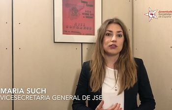 Maria Such, Vicesecretaria General de JSE