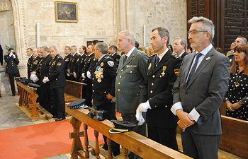 El alcalde de Valdepeñas (Ciudad Real), Jesús Martín, ha asistido este jueves al acto de celebración de los Santos Ángeles Custodios
