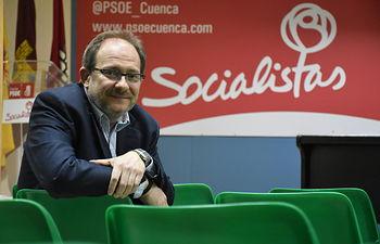 Ramón Pérez Tornero, nuevo secretario general de la Asamblea Local del PSOE de Cuenca con más del 80% de apoyo.