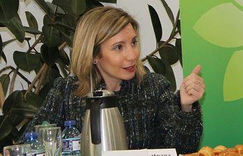 Maria Dolores Arteaga candidata al Congreso de los Diputados.
