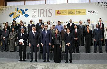 Foto de familia 25 Aniversario de RedIRIS
