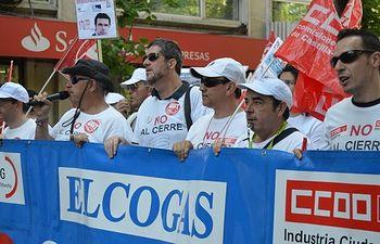 Manifestación Elcogas.