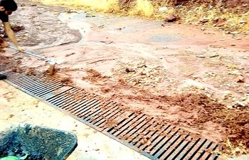 Daños sufridos en Povedilla por las tormentas.