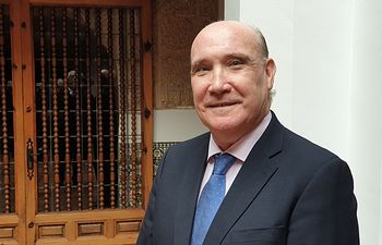 José María San Román, presidente de la Academia de Gastronomía de Castilla-La Mancha. Foto: @Manuel Lozano Serna - Academia de Gastronomía de CLM.