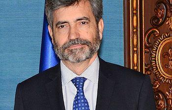 Carlos Lesmes, presidente del Consejo General del Poder Judicial y del Tribunal Supremo. Fuente: Wikipedia.