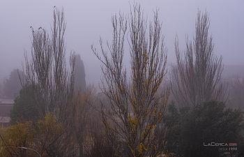 Niebla Albacete - Tórtolas. Foto: Grupo @La Cerca.