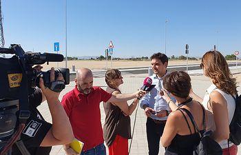 Santiago Serrano, vicesecretario de Comunicación del Partido Popular de Castilla-La Mancha.