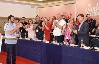 El Comité regional del PSOE ratifica a Emiliano García-Page como candidato socialista a la Junta para 2019