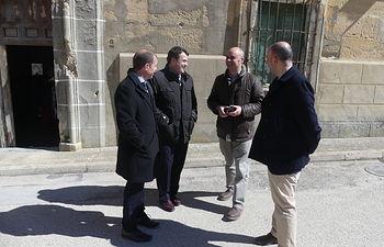 CEOE CEPYME Cuenca y el alcalde de Huete conversan sobre el desarrollo empresarial de la localidad