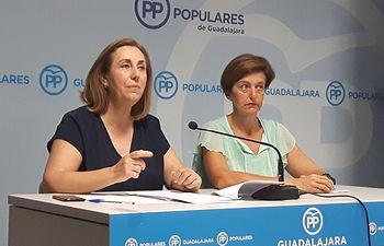 Silvia Valmaña y Ana González