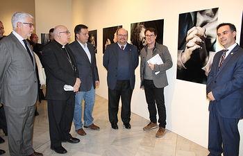 Inauguración de la exposición 'José Díes López: el renacer de la gubia'
