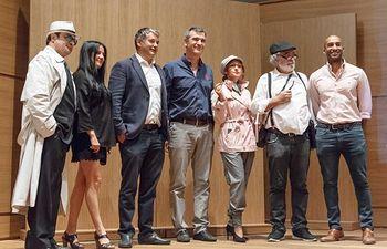 Presentación I Certamen de Novela Negra de Guadalajara.