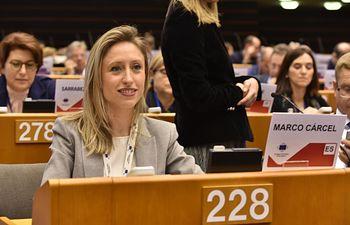 Virginia Marco, directora general de Asuntos Europeos.