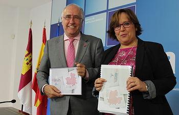 Carmen Olmedo y Francisco Pérez Alonso.