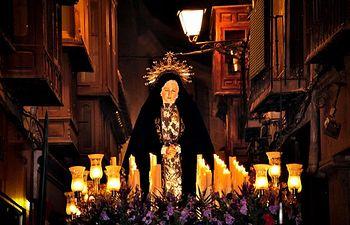 Semana Santa en Toledo. Imagen de archivo.