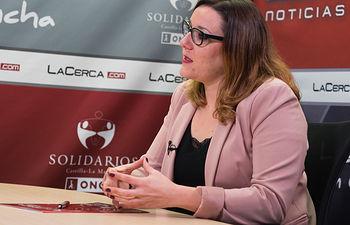 María Díaz, vicepresidenta segunda de las Cortes de Castilla-La Mancha