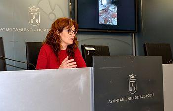 La concejala del Grupo Municipal Socialista, Juani García